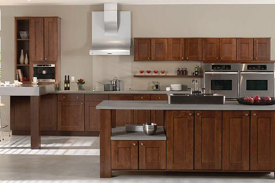 Modern, new kitchen cabinets available from Lumberjack's Kitchens and Baths, serving Northeast Ohio.