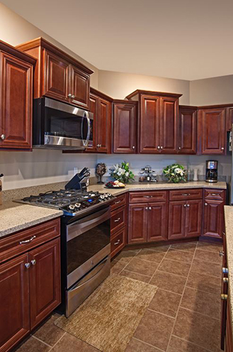 Cheap kitchen cabinets, truckload cabinets, cabinets for builders and remodeling companies, available at Lumberjacks Kitchens and Baths, serving Cleveland OH, Akron OH and Canton OH areas.
