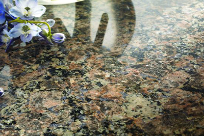 Sensa granite countertops, available at Lumberjack's Kitchens and Baths, serving Akron, Canton and Cleveland Ohio areas.