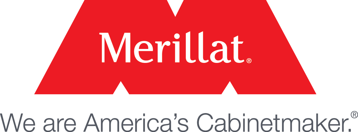 Merillat Cabinetry branding, kitchen bath cabinetry available at Lumberjacks Kitchen and Baths