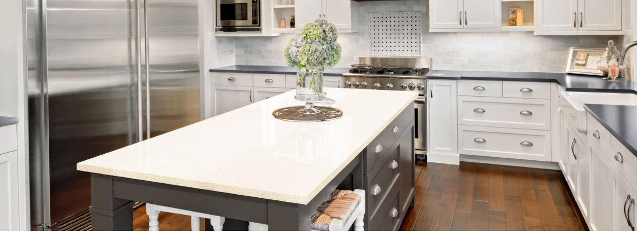 Silestone Quartz Countertops, Two Silestone Quartz Countertop Designs For A  New Kitchen.