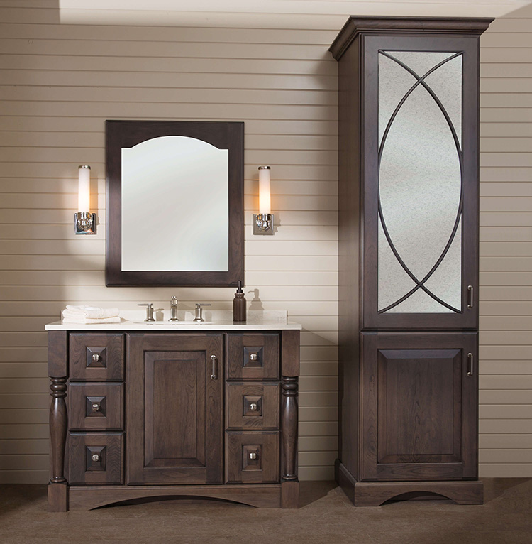 Vanities, available at Lumberjack's Kitchens and Baths, Akron OH.