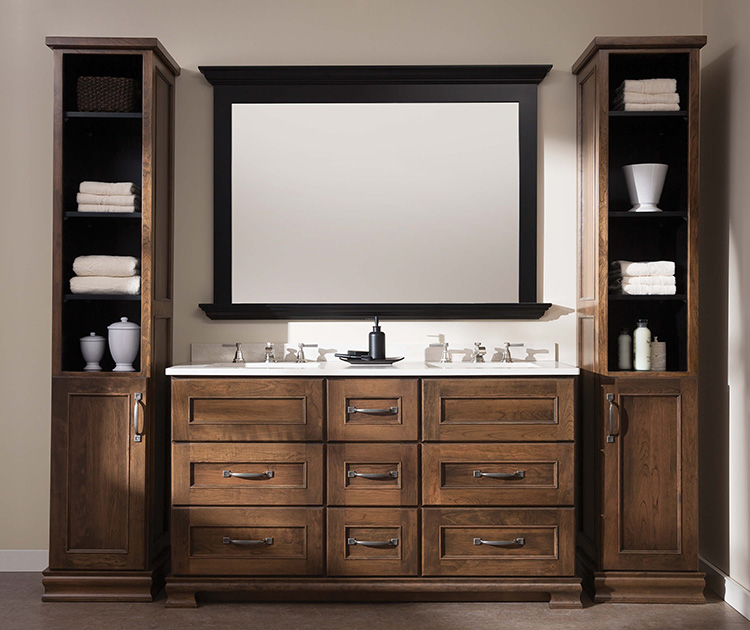 Custom Bathroom Vanities Brooklyn lumberjack's kitchens & baths | vanities cleveland akron canton oh
